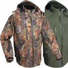 Jack Pyke Waterproof Soft Shell Camo or Green Jacket Hunting Fishing Shooting