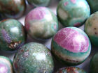 "14mm / 16mm / 20mm Round Bead Ruby in Fuchsite 15""-16"" Inches Stones Beads !&"