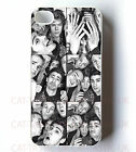 1D ONE DIRECTION IPHONE 4/4S/5 PRINTED HARD CASE COVER/HARRY/NIALL/LIAM/ZAYN