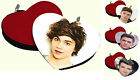 UNION J HEART SHAPED PURSE GEORGE/JOSH/JJ/JAYMI CHRISTMAS PRESENT