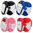Hook and Jab Boxing Focus Pads MMA Grappling Gloves Pads Rex Leather Round