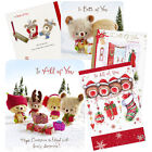 Single Christmas Card Cards - All of You or Both of You - Friends & Family