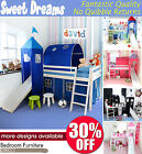 Midsleeper, Cabin Bed, Choice of colour,slide and midsleeper accessories BARGAIN