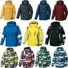 Winter Mens Womens Zipup Snowboard Ski Jacket Shell Jumper Hoodie Hooded Top FUZ