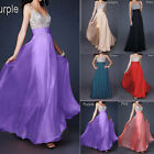 New Stunning Formal Evening Long Gown Party Prom Ball Bridesmaid Dress Size 8-18