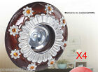 4X K7036 Coffee+Silver 1W LED Warm Cool Downlight Spotlight Lamp Bulb &8