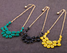 New Women's Boutique Gem Bubble Bib Statement Necklace -US Seller, Free Shipping
