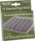 Jack Pyke Refill Charcoal Hand Warmer Burner Stick Spare Fishing Tin Fuel Rods