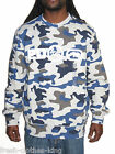 Ecko Unlimited Sweater New Mens Camo Logo Blue Crew Neck Pullover Choose Size