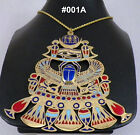 Hand Made Egyptian costume Jewlery Pendant Ethnic Tribal Islamic Pharonic