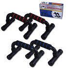 Pair Push Press Up Bars Pushup Fitness Exercise Foam Bar Stands Home Gym Sports