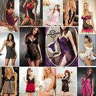 Hot New Sexy Women Lingerie Dress Intimate Babydoll Sleepwear Fashion Nightwear