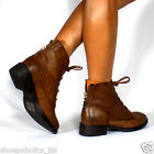 Rear Colored Zipper Round Toe ANKLE Boots Bootie BROWN Size 5.5 to 10
