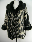 ITALIAN WOOL MIX JACKET WITH FAUX  FUR COLLAR BNWT ONE SIZE FITS UP TO SIZE 20