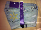 Victoria Beckham DVB Jeans Medium Washed Cuff Shorts NW