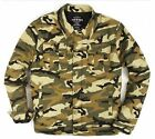 Mens ECKO UNLIMITED Camouflage CAMO 'd ISSUE JACKET w/ Quilted Lining/4 Pockets