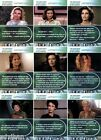 Quotable Star Trek TNG Captain's Women Card Singles W1-W9