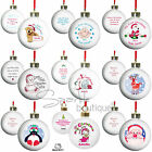 Personalised 'Baby's First Christmas' Tree Bauble-1st Xmas-Keepsake Gift/Present