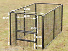 1PANEL OR 1DOOR ONLY, FULLY GALVANISED, 80CM ,EXERCISE PEN DOG PUP RUN ENCLOSURE
