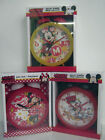 GIANT MINNIE MOUSE & MICKEY MOUSE CLOCKS