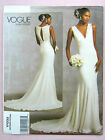 Vogue V1032 Sewing Pattern Misses' Dress - Bridal Gown - Floor Length