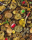 Coin Treasure Fabric Material by Benartex Money Change Jewels Pirate's Gold