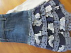 NWT One Kid Boutique Ivory Gray Plum Sequin Bow Applique Top Skirt Set 4T or 5