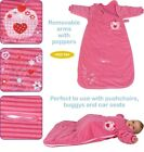 Dreambag Baby Velour Travel sleeping bag Cupcake Design