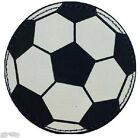 Football Stickers Quality Peel Off Leather Look Football Sticker Stitched Edge