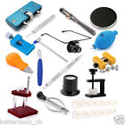 Adjustable Watch Back Case Cover Opener Remover Presser Holder Repair Kit Tools