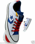 Converse Star Player EV OX Mens Womens Trainer Shoes White Sizes 3-6.5 131115C