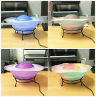 12 LED Multimode Mist Maker Humidifier Water Fountain Tabletop Lamp Fogger