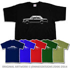 70s BMW 2002 Tii INSPIRED CLASSIC CAR T-SHIRT - CHOOSE FROM 6 COLOURS (S-XXXL)