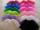Women Teens Girls Tutu Party Ballet Dancewear Dress Skirt Pettiskirt Costume
