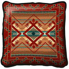 Southwest Southwestern Las Cruces Art Tapestry Pillow Jacquard Woven Cotton