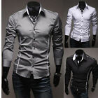 2014 Collection Mens Luxury Casual Formal Slim Fit Stylish Dress Shirt T-Shirts