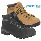 MENS GROUNDWORK LEATHER SAFETY STEEL TOE CAP LADIES WORK BOOTS TRAINERS SHOES