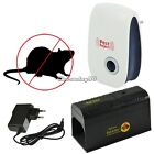 Electronic Rat Killer Trap Mice Mouse Zapper Rodent Control w/ EU Plug Adapter