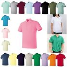 Mens Womens Basic Pocket Short Sleeve Casual Collar Polo t Shirt Top Tee tshirts