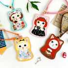 Cute Cat ID Business Card Holder Pocket Wallet_ JETOY Choo Choo Dolly Card Case