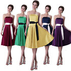 2014 GK Knee Length Pageant Dress Evening Cocktail Formal Dress Party Prom Gown