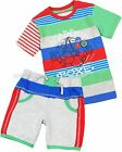 Deux par Deux Boys' T-shirt & Shorts Knock Out, Sizes 18M
