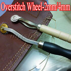 2/4mm Overstitch Wheel Leather Stitch Spacing Paper Perforating Sewing Roulette