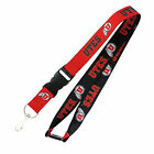 NCAA reversible lanyard keychain pick your team