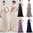 New Long Formal Evening Party Gown Bridesmaid Banquet Prom Dress 5 Color Sz 6-20