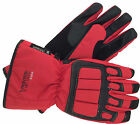 MOTORBIKE GLOVES RS VECTOR MAX MOTORCYCLE SCOOTER WATERPROOF LEATHER GLOVES RED