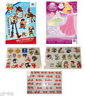 Disney Pixar Wall Sticker - Re-Usable Removable Wall Art Children Bedroom Toybox