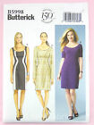 Butterick 5998 Sewing Pattern Misses'/Women's Dress - Fitted - Easy