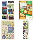 ALL $1.00 SALE !  Scrapbook Cardstock STICKERS ~ Many Themes ~ by Karen Foster