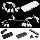 USB 2.0/1.1 3/2/4/7 Port High-Speed USB HUB /Phone Charge cable connector C1MY
